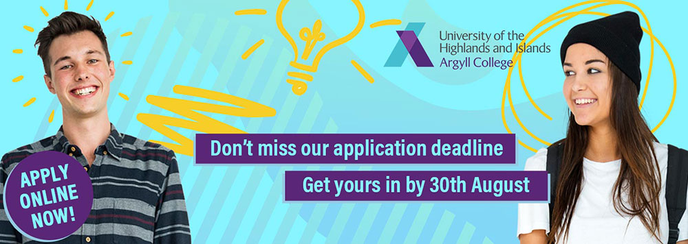 Apply online now - Don't miss our application deadline. Get yours in by 30th August
