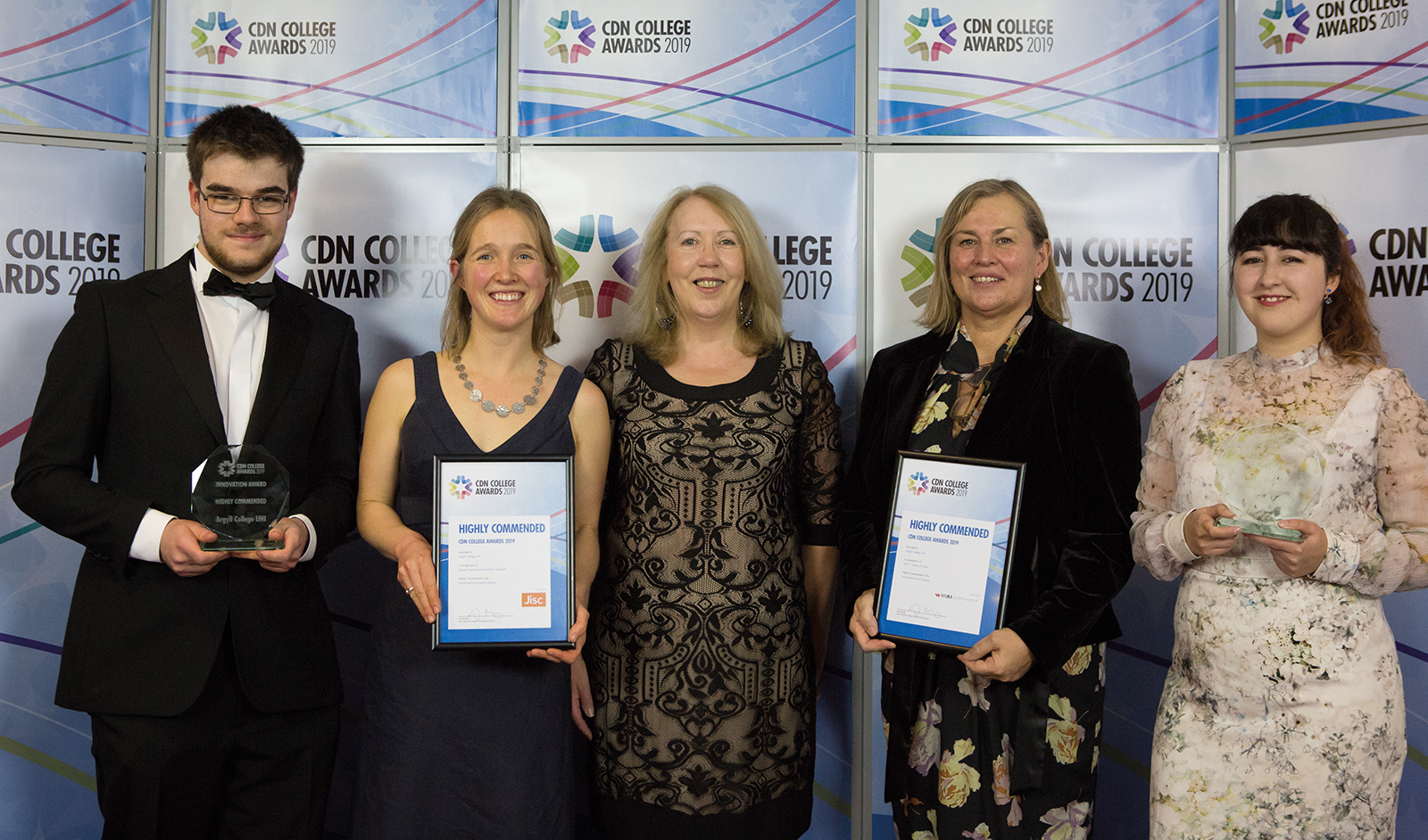 A Pair of Highly Commended Awards for College Staff