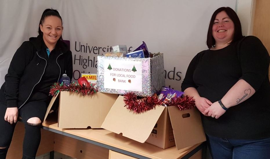 Campbeltown Centre help local food bank