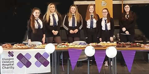 Rothesay pupils bake up a storm