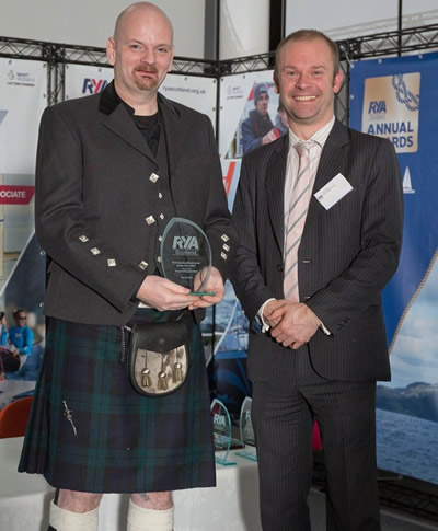 RYA Scottish Instructor of the Year